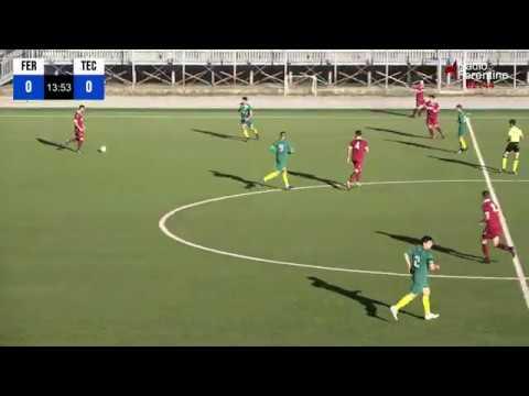 Sintesi Incontro di calcio Ferentino Tecchiena del 05-01-2020