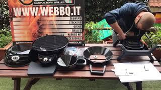 WeBBQ - Unboxing, Assembling, Test Outdoorchef P-420 G MiniChef