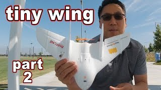 World's Smallest FPV Wing (Part 2) ????