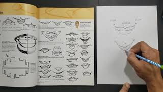 How To Draw Basic Caricature Mouths