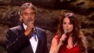 Andrea Bocelli & Sarah Brightman - Canto Della Terra (Concierto).flv
