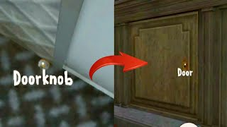 How to Find and Use the Door Knob ( Ice Scream 2 How-To Edition )
