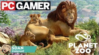 Planet Zoo PC Gamer Magazine Info