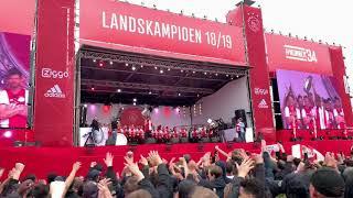 Huldiging Ajax Amsterdam : NERES!