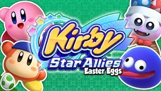 Power of Friend-Ship - Easter Eggs in Kirby Star Allies - DPadGamer