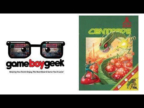 The Game Boy Geek Reviews Centipede