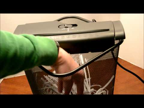 Ofitech Economy Paper Shredder Unboxing and Review