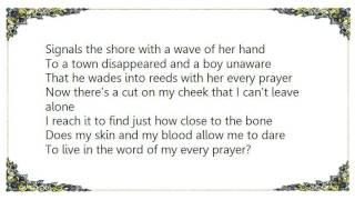 Joe Henry - Suit on a Frame Lyrics