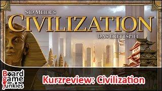 [Kurzrezension] Civilization - Das Brettspiel - Heidelberger Spieleverlag / Fantasy Flight Games