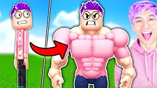 Can You Beat This Funny ROBLOX GAME!? (WEIGHT LIFTING SIMULATOR 3)