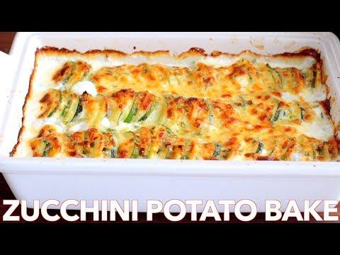 Creamy Zucchini Potato Bake Recipe - Natasha's Kitchen