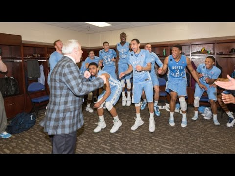 Video: Locker Room Celebration Post-Virginia
