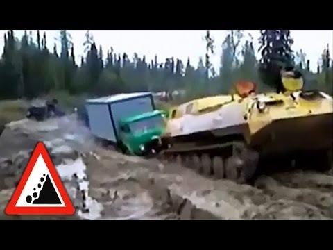 Бездорожье. Русские дороги беспощадны! Экстремальные дороги