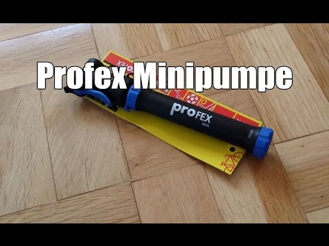 Profex Minipumpe für Fahrrad, Ball usw. im Test