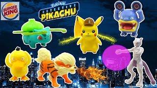 Burguer King Detective Pikachu Colección Completa Pokemon