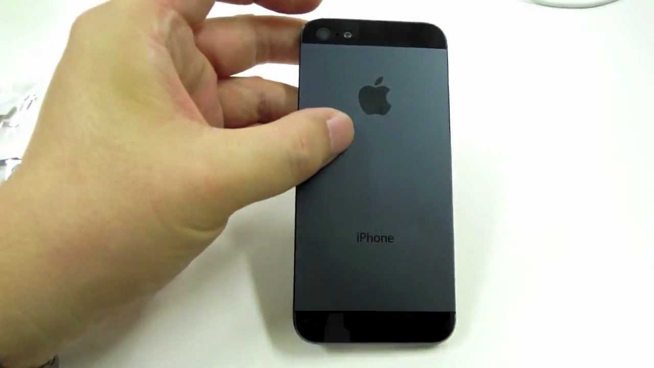Video Reaffirms Alleged iPhone 5