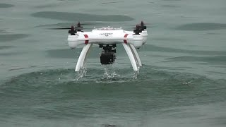 Mariner Quadcopter Takeoff and landing from River