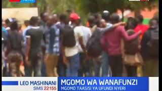 Wanafunzi wa taasisi ya ufundi Nyeri wagoma: Leo Mashinani
