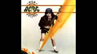 AC/DC - High Voltage (Lyrics+HQ)