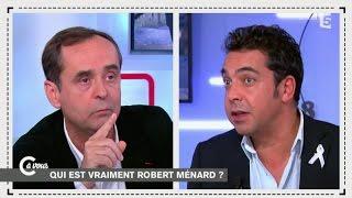 Robert Ménard face à Patrick Cohen - C à vous - 25/11/2014