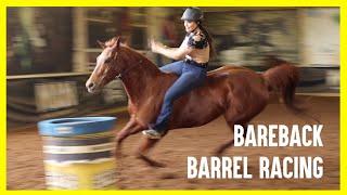 BARREL RACING BAREBACK....