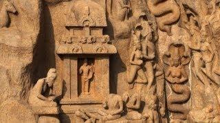Elegant Stone Carvings at Arjuna's Penance