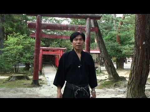 Der letzte Ninja-Kämpfer Japans