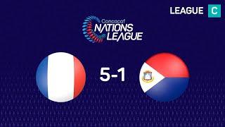Nations League : Guadeloupe - Sint-Maarten (5-1)