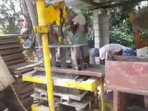 Manual Automatic Cement Bricks Machine
