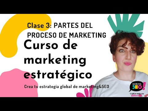 Clase 3: Partes de una estrategia de Marketing - CURSO DE MARKETING ESTRATÉGICO by Lucía y el SEO