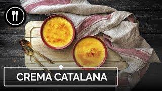 RECETA DE CREMA CATALANA, cómo hacer este delicioso postre español | Directo al Paladar