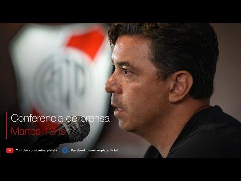 Marcelo Gallardo en conferencia de prensa [EN VIVO]