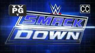 WWE Smackdown Theme With Pyro - CFO$ - Black & Blue (Syfy)