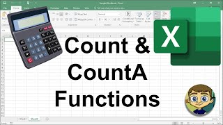Using Count and CountA in Excel - Excel Tutorial