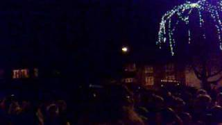 preview picture of video 'mountsorrel christmas lights being switched on nov 28th 2008'