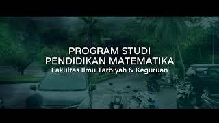 PROGRAM STUDI PENDIDIKAN MATEMATIKA