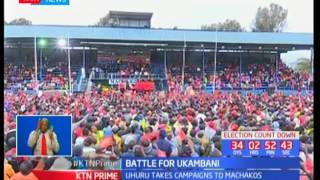 President Uhuru Kenyatta uses Kalonzo Musyoka's name to woo Machakos residents