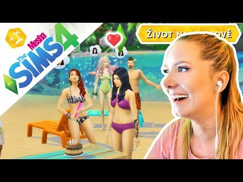 Párty na pláži a flirt s mořským vílákem! ● THE SIMS 4 - ŽIVOT NA OSTROVĚ 04