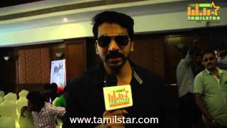 Ganesh Prasad at Karaiyoram Movie Launch