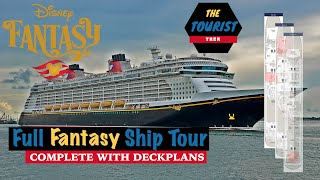 Full Disney Fantasy Ship Tour | With Deck Plans