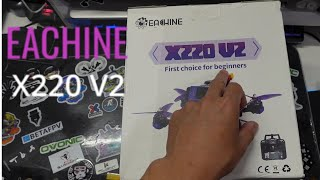 """Eachine X220 V2 2021 Unboxing e Differenze col primo modello Drone 5"""" RTF per iniziare"""