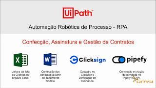 RPA - Robotic Process Automation em Ação
