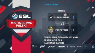 Wielki finał   ILLUMINAR GAMING vs POMPA TEAM   Finały 17. Sezonu ESL Mistrzostw Polski