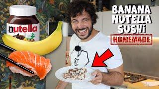 Banana Nutella Sushi | Cucina Buttata - Guglielmo Scilla Willwoosh