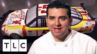 Buddy Builds a Life Size NASCAR CAKE | Cake Boss