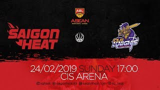 ABL9 || Home - Game 20: Saigon Heat vs CLS Knights 24/02 | Full Game Replay