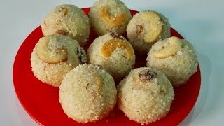 Rava Laddu  Suji , Indian Dessert Recipe By Priya