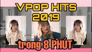 MASHUP 32 VPOP HITS 2019 TRONG 8 PHÚT (guitar ver) - Michelle Ngn