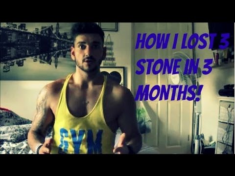 Video How I lost 3 stone (42 lbs) in 3 months Motivational video.