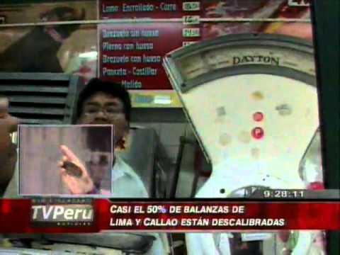 n Pt  2   Casi el 50% de balanzas de Lima y Callao están descalibradas